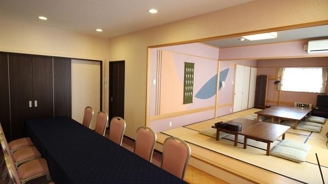 控室・会食室のご案内