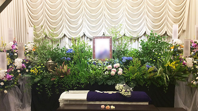 オリジナル葬儀施行例