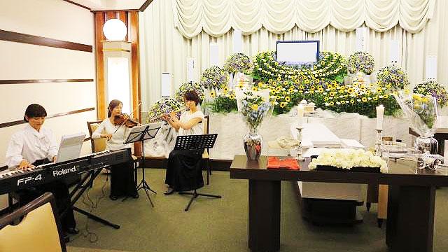 三愛メモリアルの音楽葬